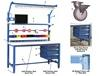 5,000 LB. CAPACITY KENNEDY SERIES WORKBENCH OPTIONS